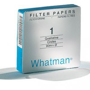 Grade 93 Qualitative Filter Paper Wet-Strengthened, sheets, 58 x 58 mm