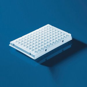 96-well PCR plate, white, for qPCR, 0,15 ml low profile, for LightCycler/50 pcs.