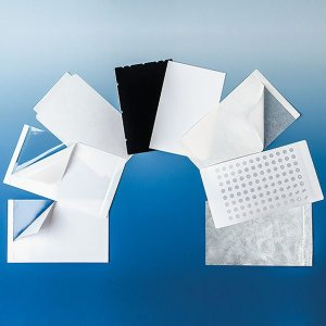 Self-adhesive qPCR sealing film,high-transparent for RT-PCR, PP, 100 pcs./bag