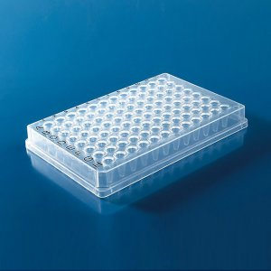 qPCR plates, for Bio-Rad CFX96, skirted, low profile, 50pk, for real time PCR