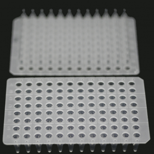 0.2ml 96-well qPCR plates, unskirted, clear /150