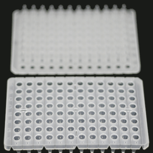 0.2ml 96-well qPCR plates, semi-skirted, clear /150